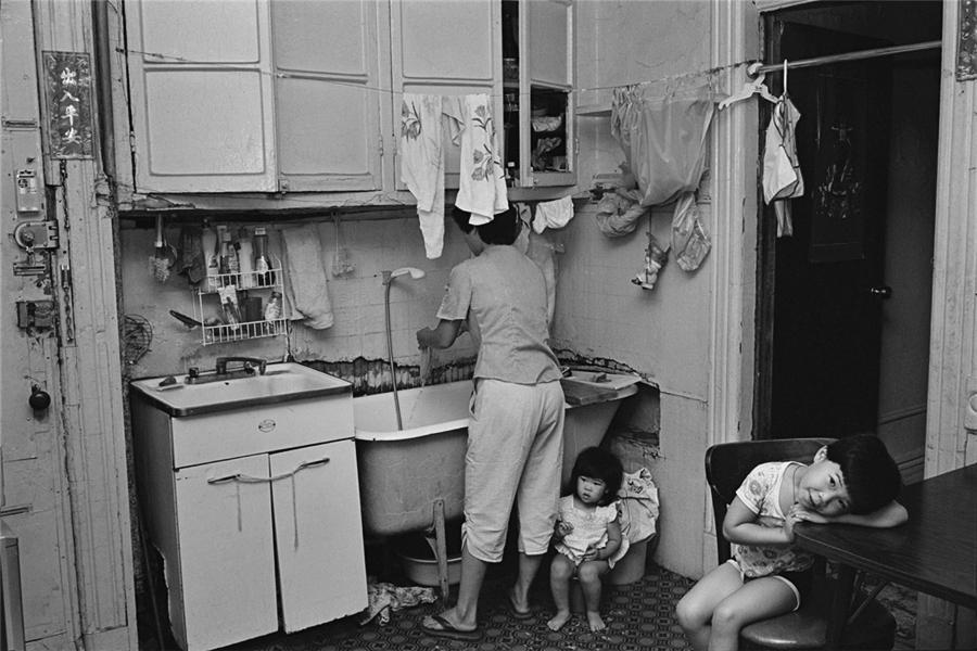 kitchen aid classic plus pantry cabinets 独在异乡为异客黑白图片记录80年代纽约唐人街 中文国际 中国日报网