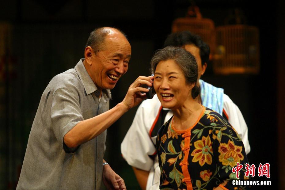 北京人藝表演藝術家朱旭去世 享年88歲[1]- 中國日報網