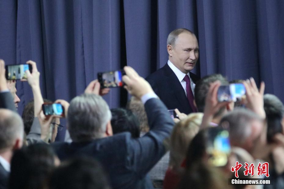 俄羅斯總統普京舉行大型年度記者會-中新網