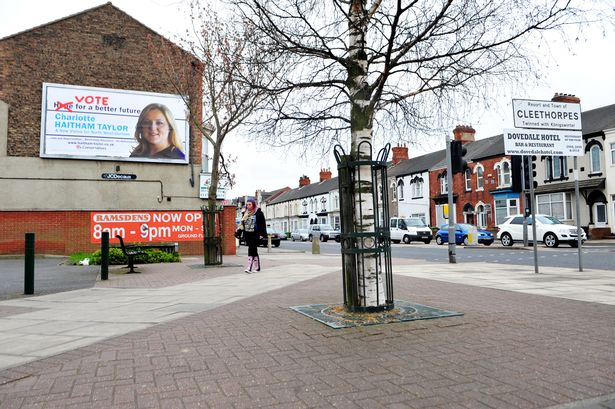 The poster for Charlotte Haitham Taylor in Cleethorpes