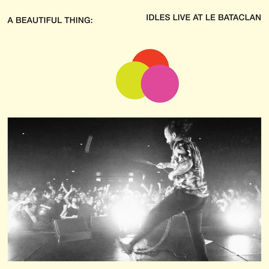IDLES live album Beautiful Thing cover artwork