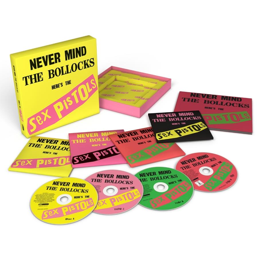 Sex Pistols Reissue Never Mind The Bollocks 40th anniversary box set press image cover