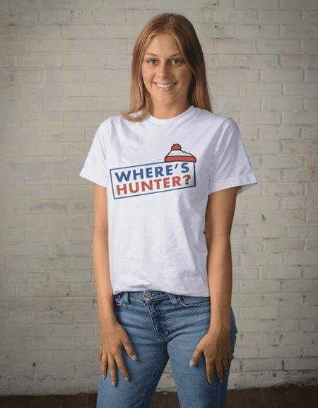 Where's Hunter T Shirt