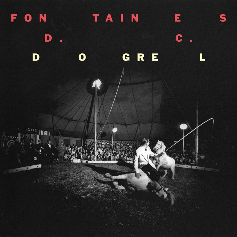 Fontaines D.C. Dogrel cover art