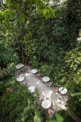 Les Jardins vus depuis la Suite Végétale ©Jefferson Lellouche