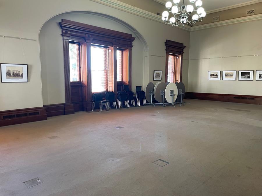 Empty ground floor Institute Building