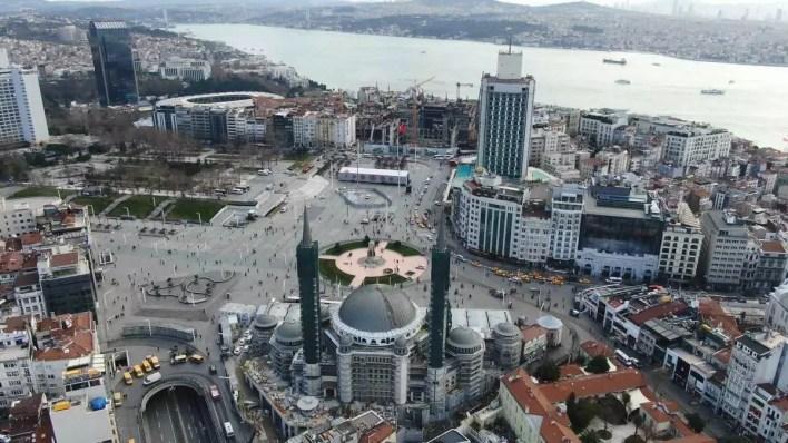 İşte Taksim Camii inşaatında son durum - Son Dakika Flaş Haberler
