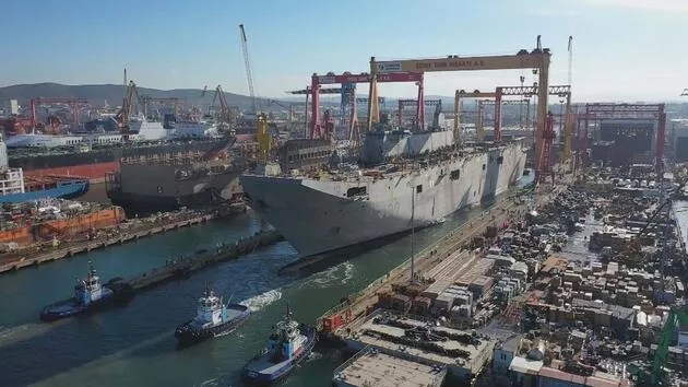 Turkey's first aircraft carrier! Here are the features of 'TCG Anadolu'