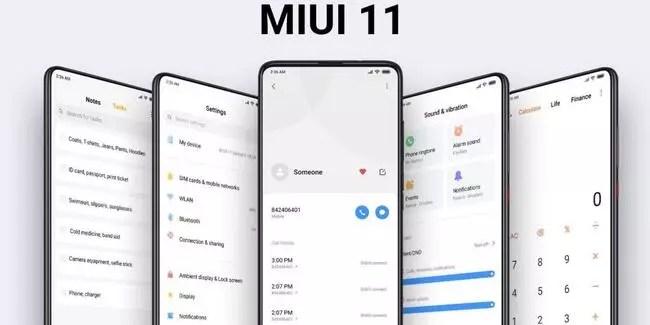 MIUI 11 alacak Xiaomi modelleri bugün açıklandı