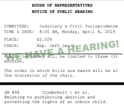 Hearing Notice