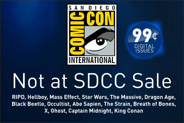 SDCC Sale now live!