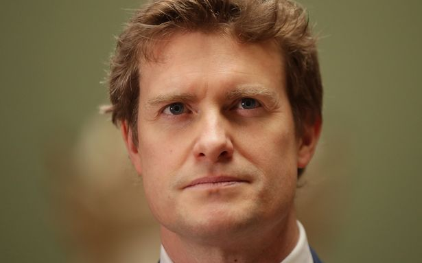 Former Labour MP Tristram Hunt at the V&A in London on his first day as director of the museum
