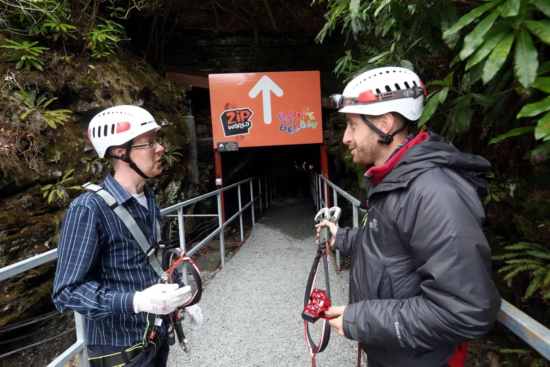 4 man zip wire wales auto transformer starter wiring diagram world caverns opens at blaenau ffestiniog daily post
