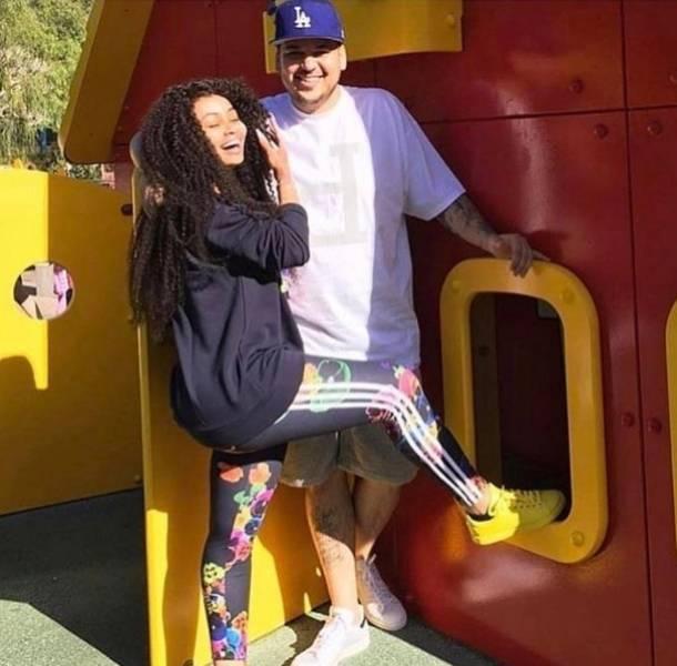 Blac Chyna toma acciones legales en contra de Rob Kardashian