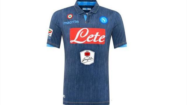 51964fe48 Napoli Unveils Denim Jerseys – The 93rd Minute