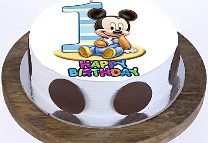 Send 1st Birthday Cakes Cake Delivery On First Birthday For Girls