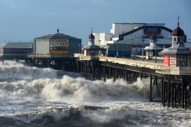 North Pier in Blackpool