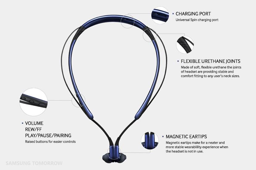 Samsung presenta le cuffie LEVEL U Wireless Bluetooth