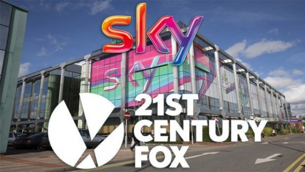 Image result for images of 21st century fox and sky