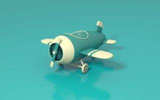 【31】C4D制作卡通小飞机 · 模型+渲染