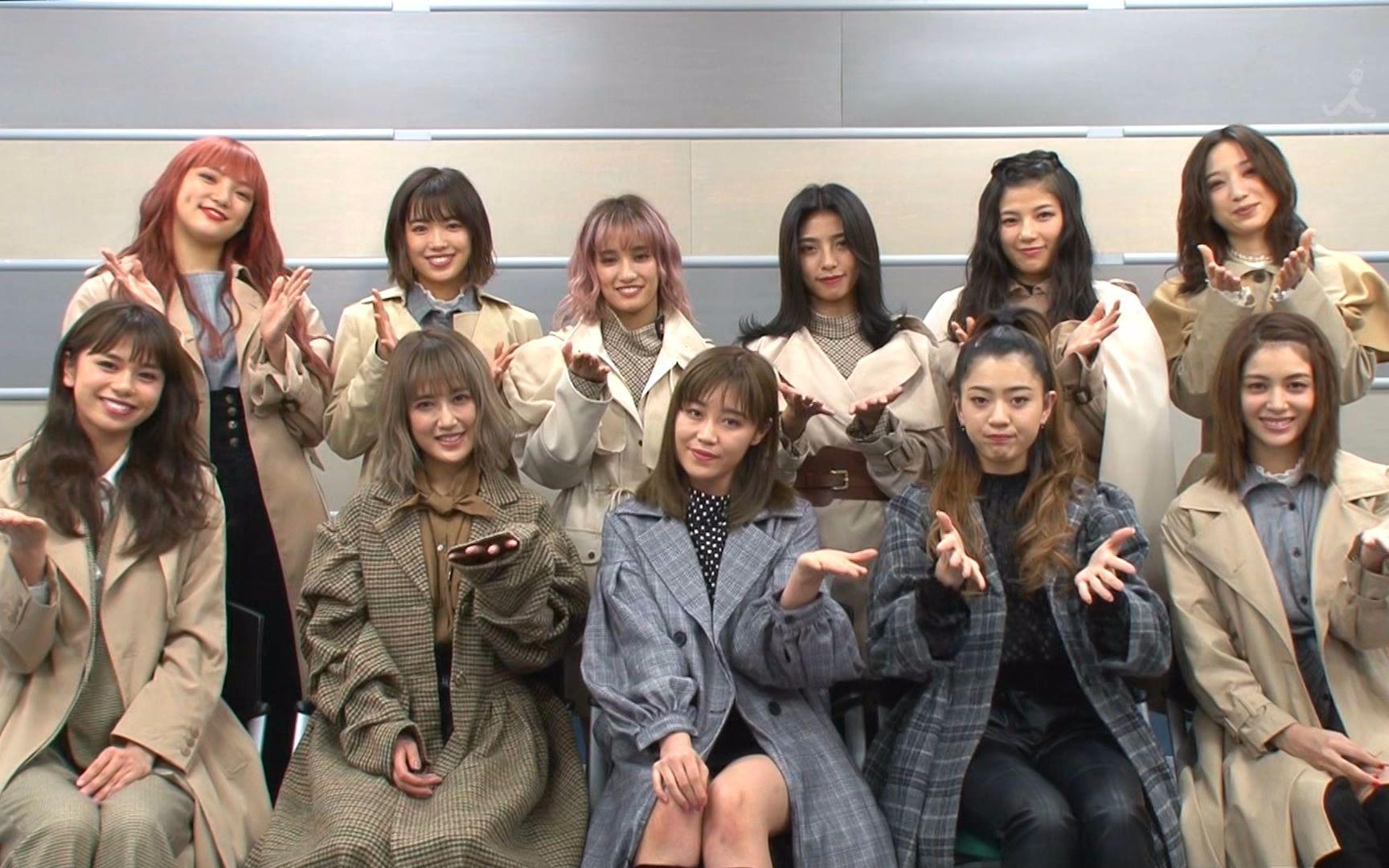 E-girls - 北風と太陽 (17.12.10.CDTV)_嗶哩嗶哩 (゜-゜)つロ 干杯~-bilibili