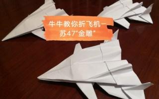 """折飞机—苏47""""金雕""""战斗机"""
