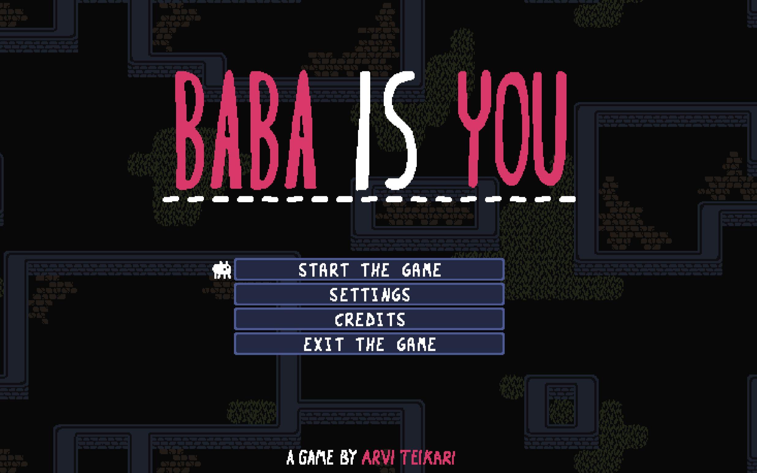 baba is you 全關卡226關全成就通關攻略(2020年1月版)_嗶哩嗶哩 (゜-゜)つロ 干杯~-bilibili