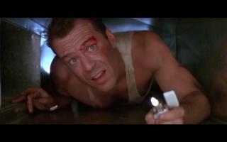 【虎胆龙威1】1988年布鲁斯威利斯超经典动作片预告片