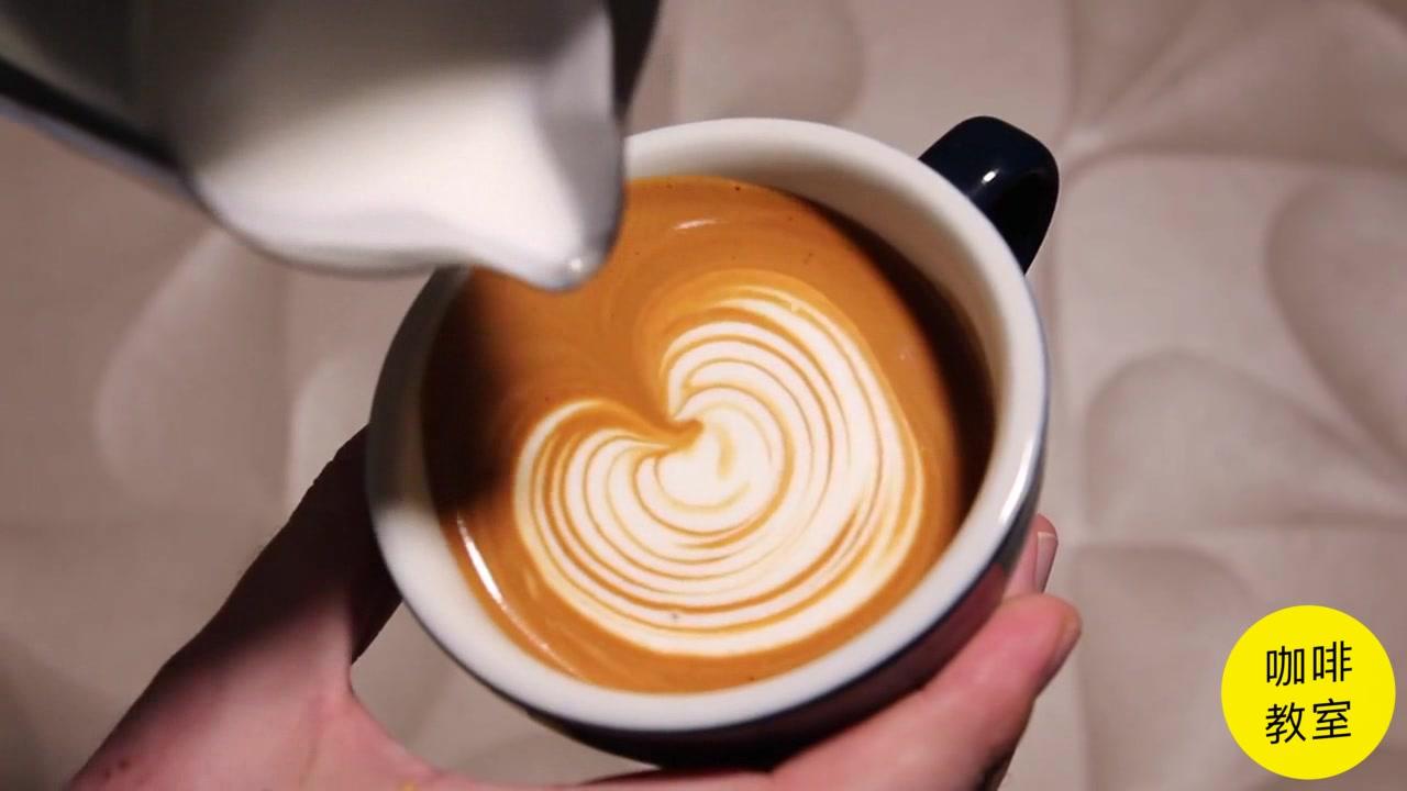 新手如何學習咖啡拉花?看這個咖啡拉花慢動作特寫視頻就夠了_嗶哩嗶哩 (゜-゜)つロ 干杯~-bilibili