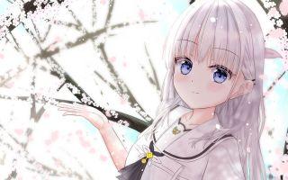 [summer pockets]白羽生日快乐!(竖屏动态壁纸)