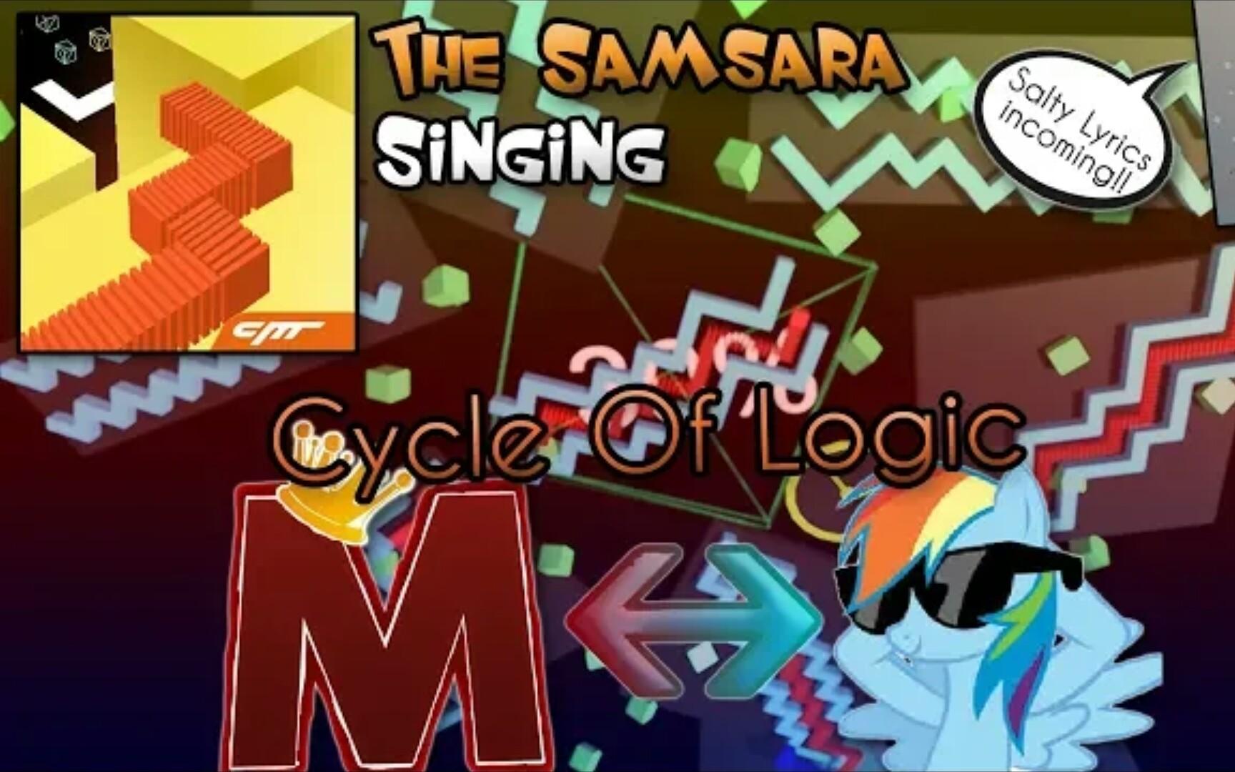 【跳舞的線/飯制關卡】The Samsara輪回英文填詞 [Royal Mike]_嗶哩嗶哩 (゜-゜)つロ 干杯~-bilibili
