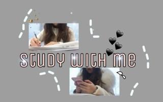 Study with me | 天冷了去自习室吹空调吧 | 回宿舍的路 | 日本留学日常 | 早稻田自习室