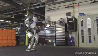 波士顿动力机器人,翻跟头