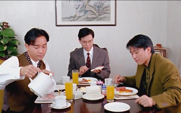 家有喜事1992/張國榮/周星馳 爆笑飯局_嗶哩嗶哩 (゜-゜)つロ 干杯~-bilibili