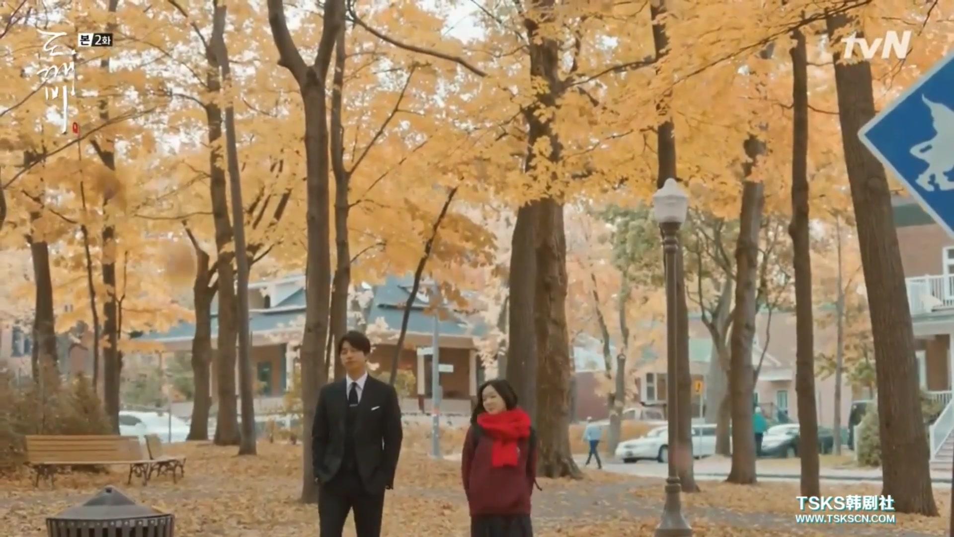 """【孤獨又燦爛的神-鬼怪】EP2 cut1 """"若抓住飄落而下的楓葉,加拿大魁北克的秋色讓人驚艷! - 每日頭條"""