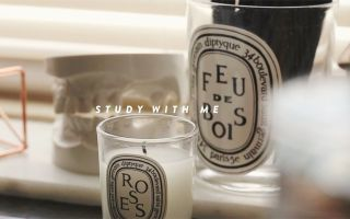 STUDY WITH ME [White Noise] A Quiet Study Session - Sarang