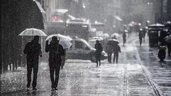 Meteoroloji'den son dakika hava durumu uyarısı: Metrekareye 75 kg yağacak!