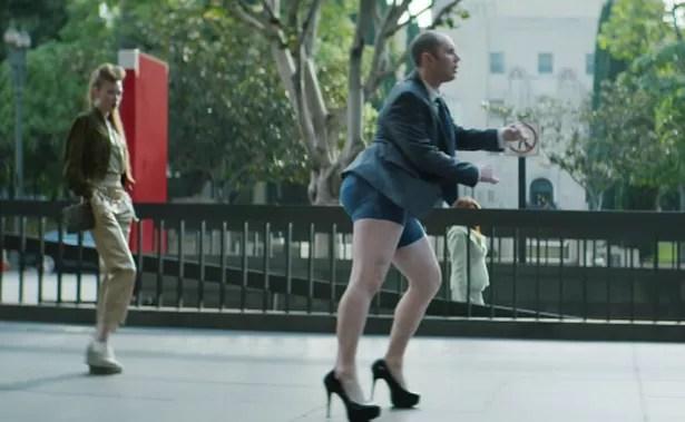 Weird Advert Shows Middle Aged Man Twerking In Denim
