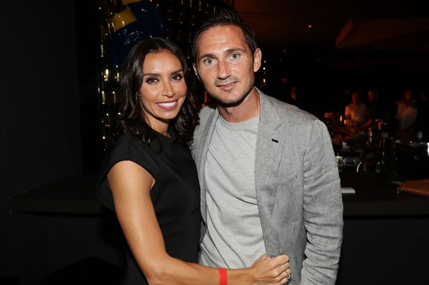 Christine and Frank Lampard at the Carl Frampton fight