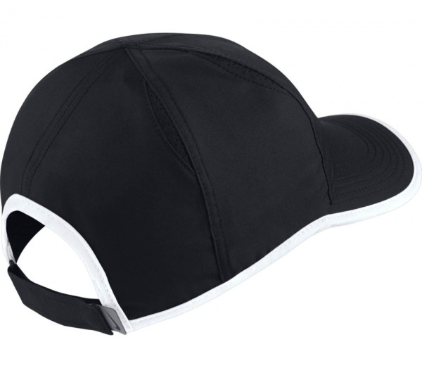 Nike - Court Aerobill Featherlight Tennis Cap Black White