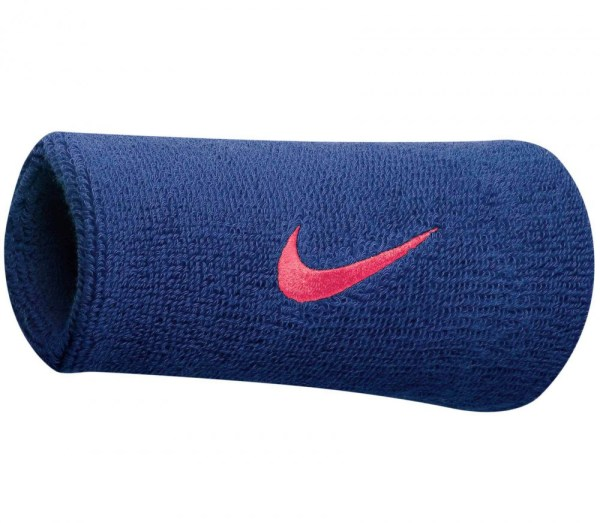 Nike - Roger Federer Swoosh Dw Wristband Dark Blue Pink
