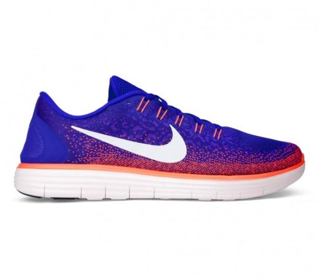 Nike - Free RN Distance chaussures de running pour hommes (bleu clair/rose) - EU 45,5 - US 11,5
