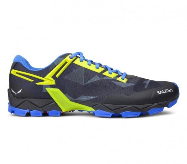 Salewa - Lite Train Chaussures multisports pour hommes (noir/bleu) - EU 42 - UK 8