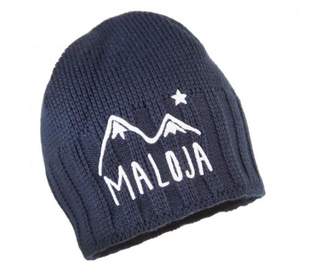 Maloja - UrosM. Snow Bonnet pour hommes (bleu foncé)