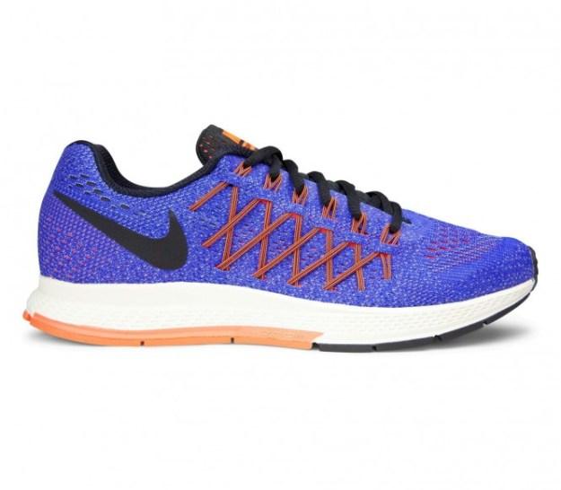 Nike - Air Zoom Pegasus 32 Chaussures de running pour femmes (mauve/orange) - EU 41 - US 9,5