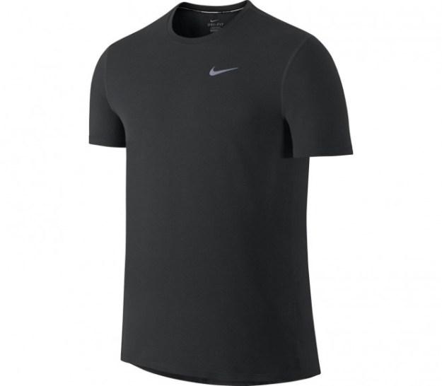 Nike - Dri-Fit Contour t-shirt de running pour hommes (noir) - M