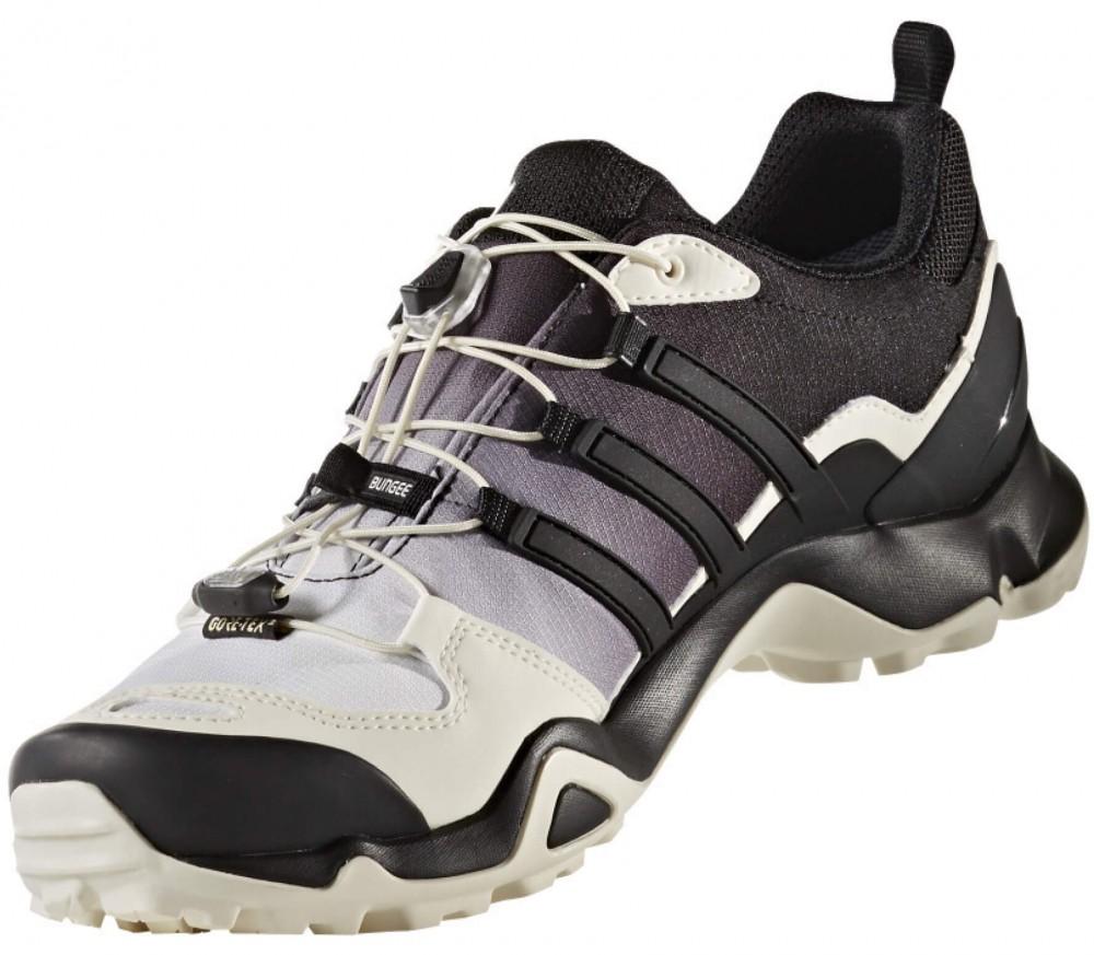 adidas terrex swift r gtx hommes chaussures de randonnee noir blanc