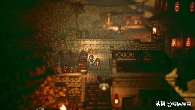 Steam《八方旅人》售價402元 PC配置需求公布 - 每日頭條