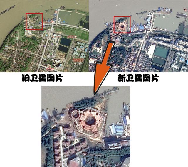 闢謠:洪澤湖海市蜃樓的原建築已經找到。別說什麼平行宇宙了 - 每日頭條