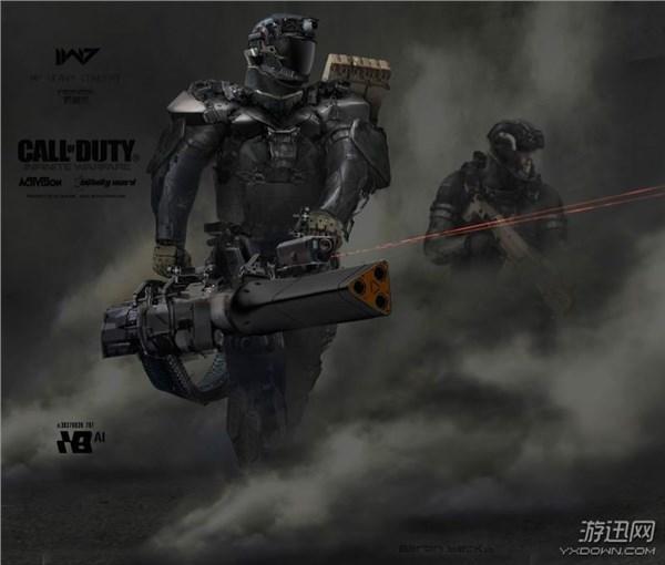 《使命召喚13》太空機甲風原畫 全副武裝打響未來戰爭 - 每日頭條